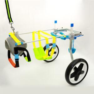 2 (back) Wheel Dog Wheelchairs