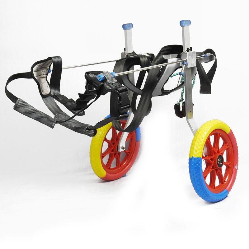 Mint-L 2 back wheels labrador german shepherd mintbowl dog wheelchairs india